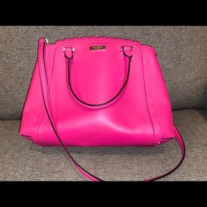 Kate spade fuchsia purse